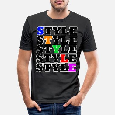 Style Style - Street Style - Slim fit T-shirt mænd