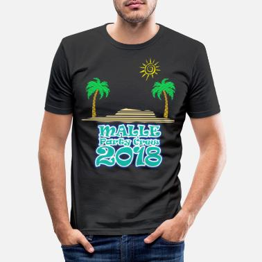 Bavaria Mallorca - party crew - Men's Slim Fit T-Shirt