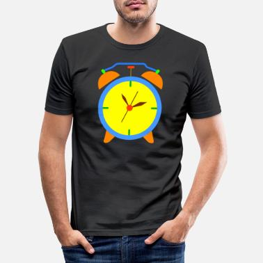 Clock alarm clock - Men's Slim Fit T-Shirt