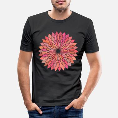 Mandala Buddhism Gift Idea - Men's Slim Fit T-Shirt