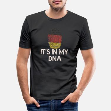 Allemand Allemand allemand allemand - T-shirt moulant Homme