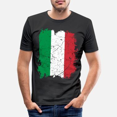 Italy Italy flag - Men's Slim Fit T-Shirt