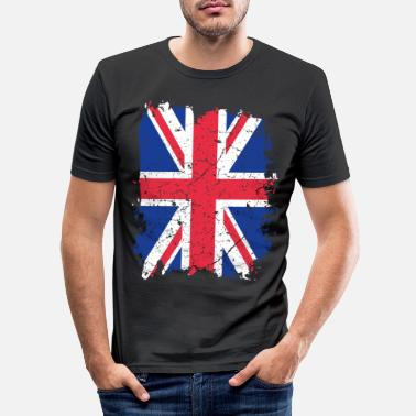 Uk UK UK flag - T-shirt moulant Homme