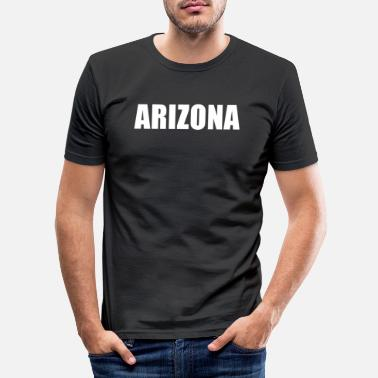 Arizona Arizona - Männer Slim Fit T-Shirt