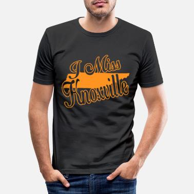 Knoxville i miss knoxville - Männer Slim Fit T-Shirt