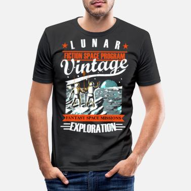 Missile Vintage lunar exploration - Men's Slim Fit T-Shirt