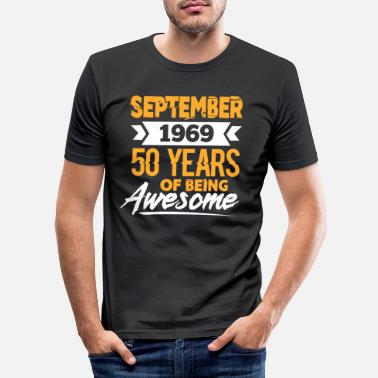 September September 1969 - T-shirt slim fit herr