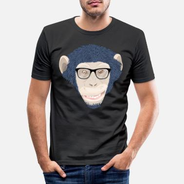 Chimpanzee chimpanzee - Men's Slim Fit T-Shirt