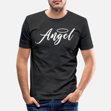 Angels Angel Angel Angel design - Men's Slim Fit T-Shirt
