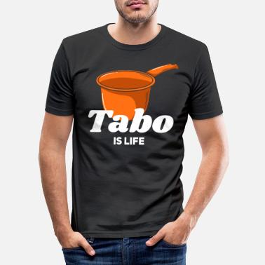Restroom Tabo Filipino Philippines Hygiene - Men's Slim Fit T-Shirt