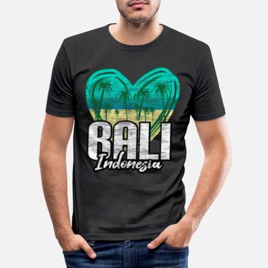 Tourist Bali Asia - Men's Slim Fit T-Shirt