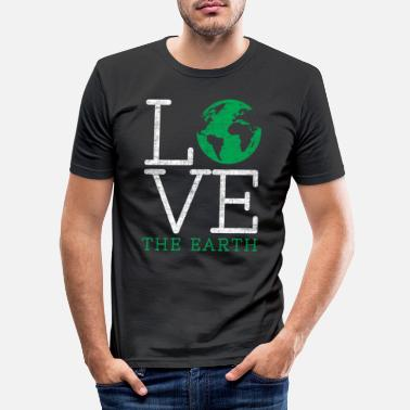 Save Earth Day - Men's Slim Fit T-Shirt
