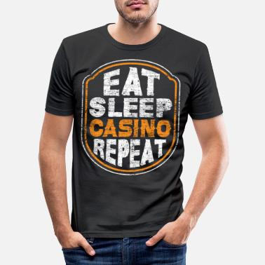 Casino Casino casino - Men's Slim Fit T-Shirt