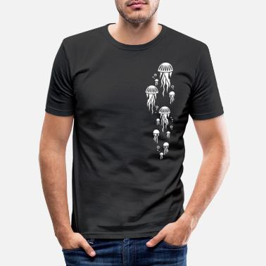 Kwal kwal - Mannen slim fit T-shirt