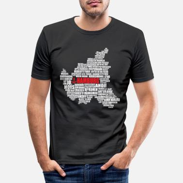 Low German Hamburg Low German Shirt - Men's Slim Fit T-Shirt