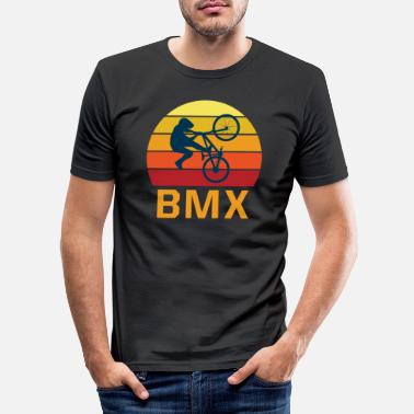 Bmx Bmx retro - Männer Slim Fit T-Shirt