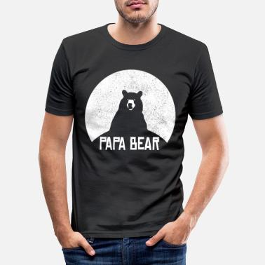 Daddy Bear Stolt pappas stolte far - Slim fit T-shirt mænd