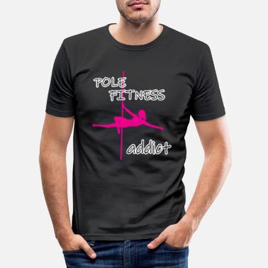 Highperformance Sport This Is My Pole Dancing Tshirt Design Pole - Men's Slim Fit T-Shirt