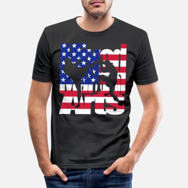 Mixed Martial Arts Mixed martial arts oss - Slim fit T-skjorte for menn