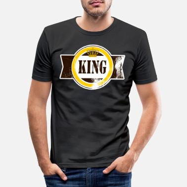Roi Roi roi roi roi roi roi prince - T-shirt moulant Homme