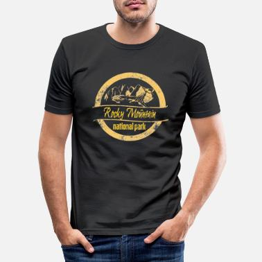 Rocky Mountains Rocky Mountain - Slim fit T-shirt mænd