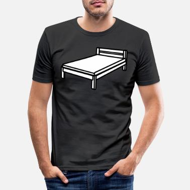 Bed Bed - Men's Slim Fit T-Shirt