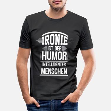 Ironi ironi - Slim fit T-shirt mænd