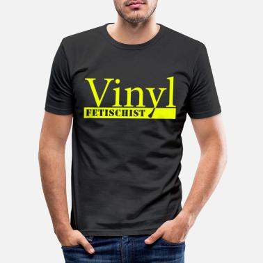 Vinyl Vinyl Fetishes - Slim fit T-shirt mænd