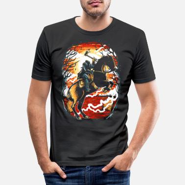 Horseman Headless Horseman - Men's Slim Fit T-Shirt