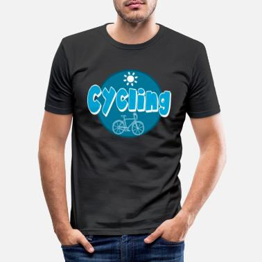 Bicyclette CYKLING - T-shirt slim fit herr