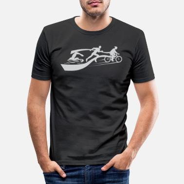 Triathlon Triathlon - Men's Slim Fit T-Shirt