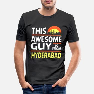 Hyderabad Hyderabad India - Men's Slim Fit T-Shirt