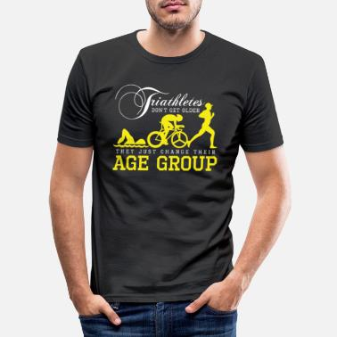 Triathlon Triathlon - Slim fit T-shirt mænd