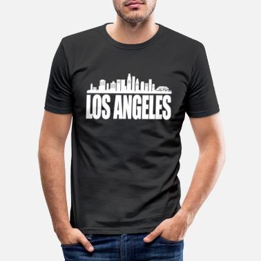 Los Angeles los Angeles - Men's Slim Fit T-Shirt
