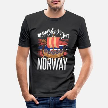 Norway Norway - Men's Slim Fit T-Shirt