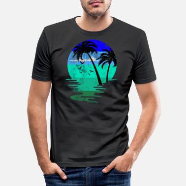 Beach Beach beach - Men's Slim Fit T-Shirt