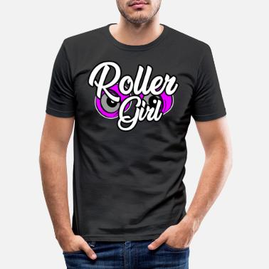 Freestyle Patins à roulettes Roller Girl Girl Power Girl Power - T-shirt moulant Homme