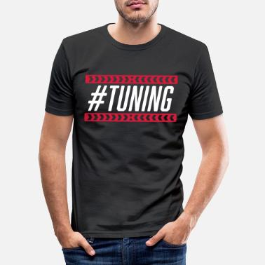 Tuning #Tuning - Men's Slim Fit T-Shirt
