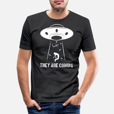 Ufo Ufo - Männer Slim Fit T-Shirt