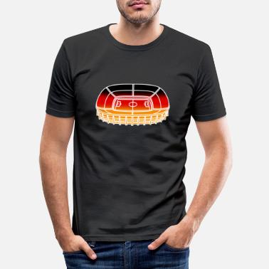 Stadium Germany stadium - Men's Slim Fit T-Shirt