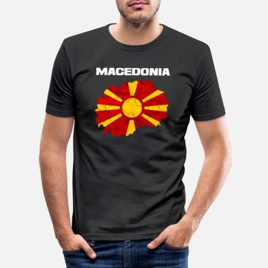 Macedonia Macedonia - Men's Slim Fit T-Shirt