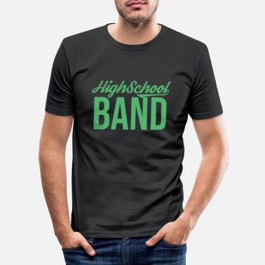 Band School band music band band band band member - Men's Slim Fit T-Shirt