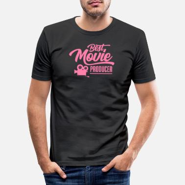 Video Productor de video Productor de video Productor de video - Camiseta ajustada hombre