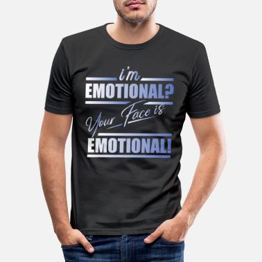 Emotion émotion - T-shirt moulant Homme