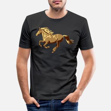 Galop galopp - T-shirt moulant Homme