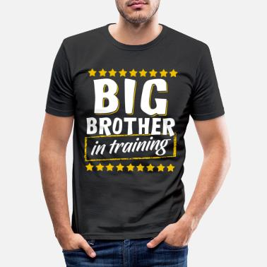 Brother Big Brother In Training, Big Brother In Training - Men's Slim Fit T-Shirt
