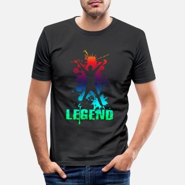 Legende Legende - Männer Slim Fit T-Shirt