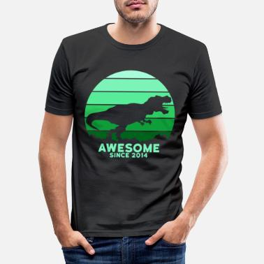Awesome Since Awesome Since 2014 - Men's Slim Fit T-Shirt