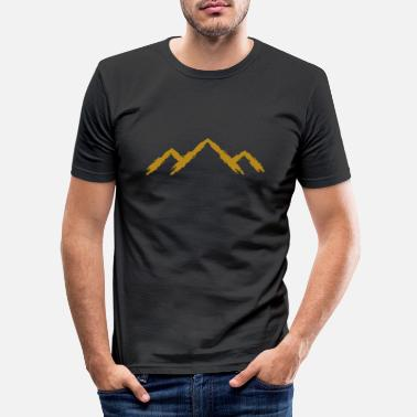Mountains Mountain mountaineering - Men's Slim Fit T-Shirt