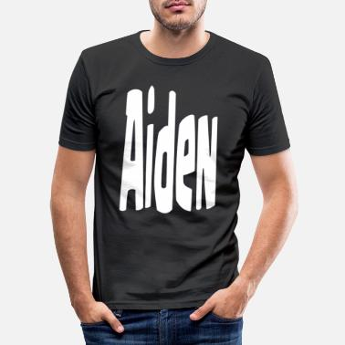 Aid Aiden - T-shirt slim fit herr